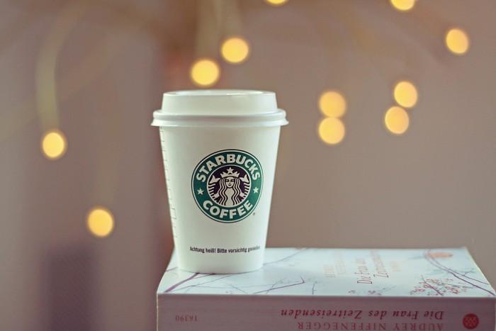 Starbucks on book
